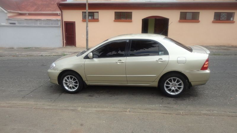 used toyota corolla toyota corolla 1 6 2006 for sale in gauteng id 1519457. Black Bedroom Furniture Sets. Home Design Ideas