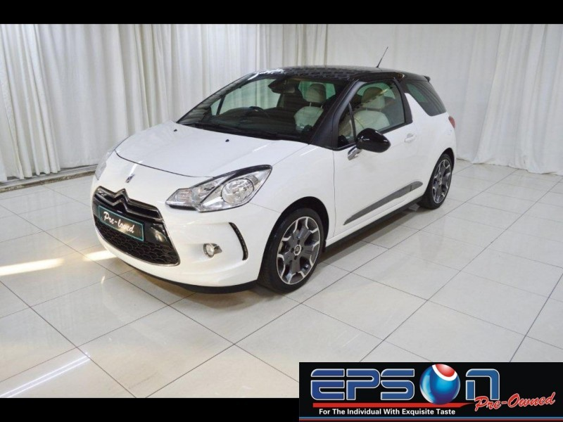 used citroen ds3 1 6 thp ultra prestige 3dr for sale in gauteng id 1520578. Black Bedroom Furniture Sets. Home Design Ideas