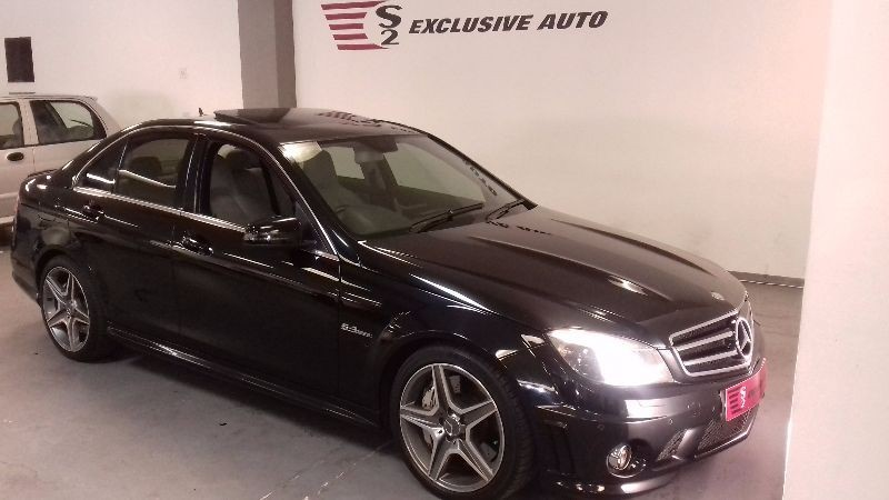 used mercedes benz c class c63 amg for sale in gauteng id 1520819. Black Bedroom Furniture Sets. Home Design Ideas