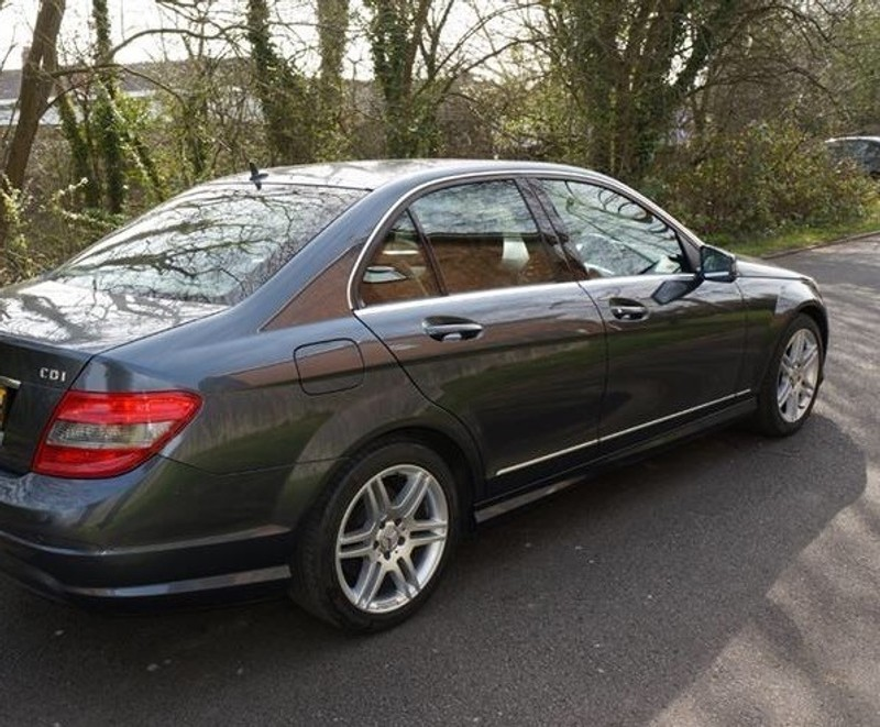 used mercedes benz c class c220 cdi amg sports pack all extras inc sat nav for sale in. Black Bedroom Furniture Sets. Home Design Ideas