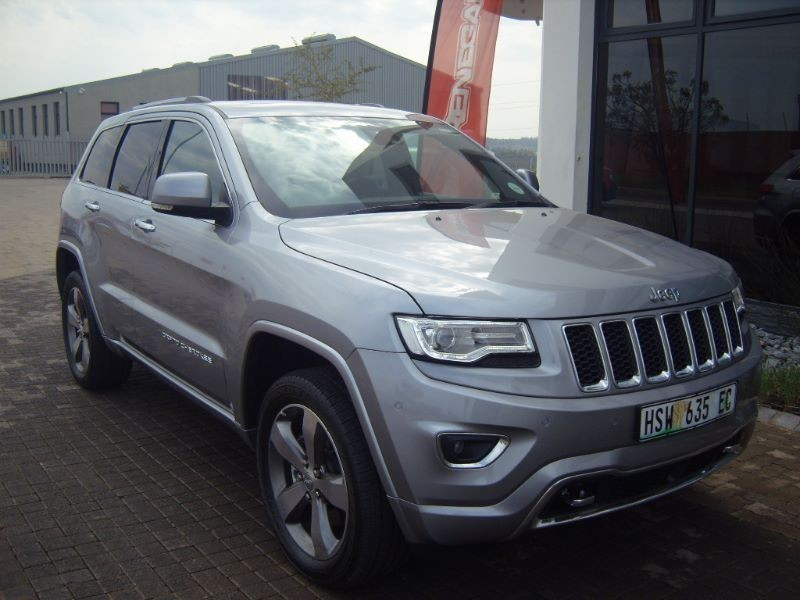 used jeep grand cherokee v6 crd overland for sale in eastern cape id 1524159. Black Bedroom Furniture Sets. Home Design Ideas