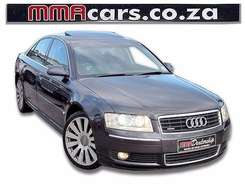 used audi a8 4 2 quattro tip for sale in kwazulu natal id 1526075. Black Bedroom Furniture Sets. Home Design Ideas
