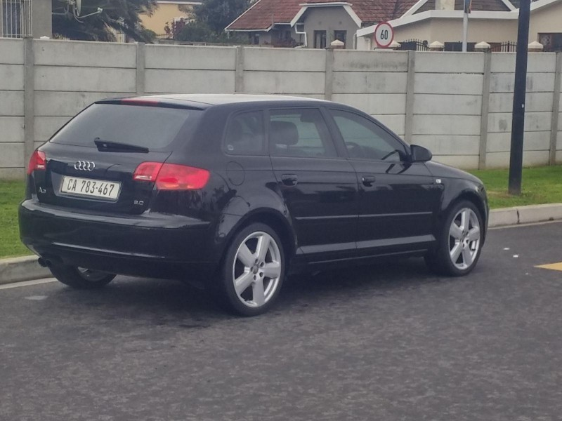 used audi a3 sportback 2 0 fsi ambition for sale in western cape id 1530462. Black Bedroom Furniture Sets. Home Design Ideas
