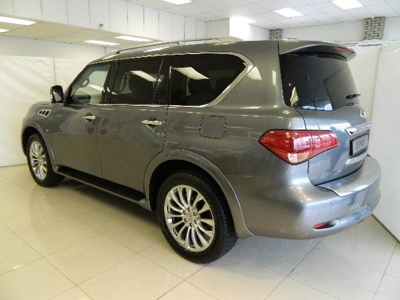 used infiniti qx80 5 5 v8 for sale in western cape id 1530922. Black Bedroom Furniture Sets. Home Design Ideas