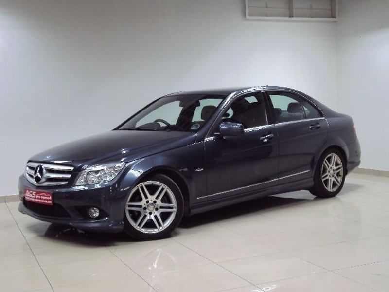 used mercedes benz c class c200 cgi amg 7g tronic sunroof. Black Bedroom Furniture Sets. Home Design Ideas