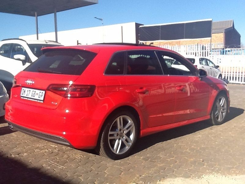 used audi a3 1 8 tfsi s line for sale in gauteng id 1540339. Black Bedroom Furniture Sets. Home Design Ideas