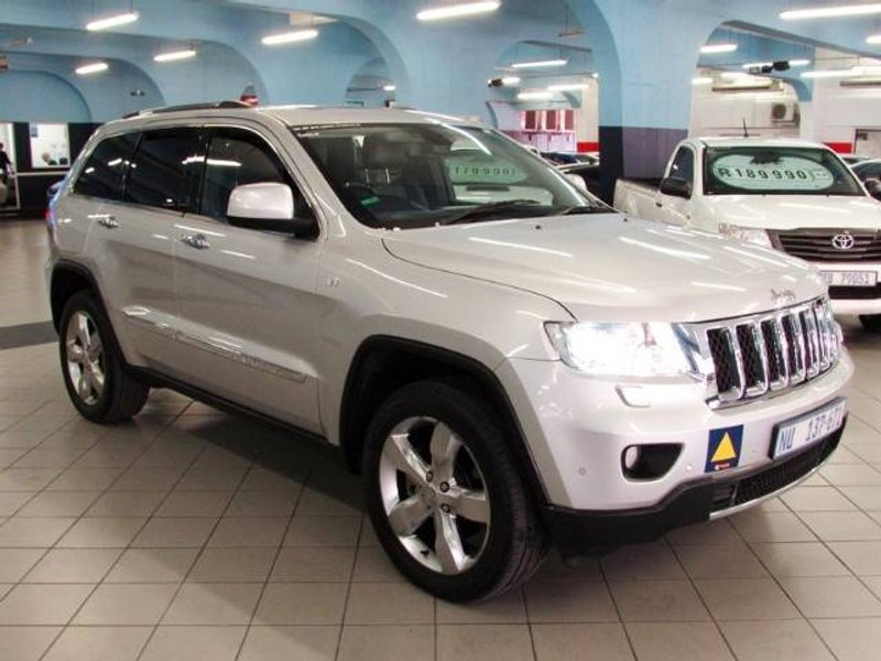 used jeep grand cherokee 3 6 overland for sale in kwazulu natal id 1540799. Black Bedroom Furniture Sets. Home Design Ideas