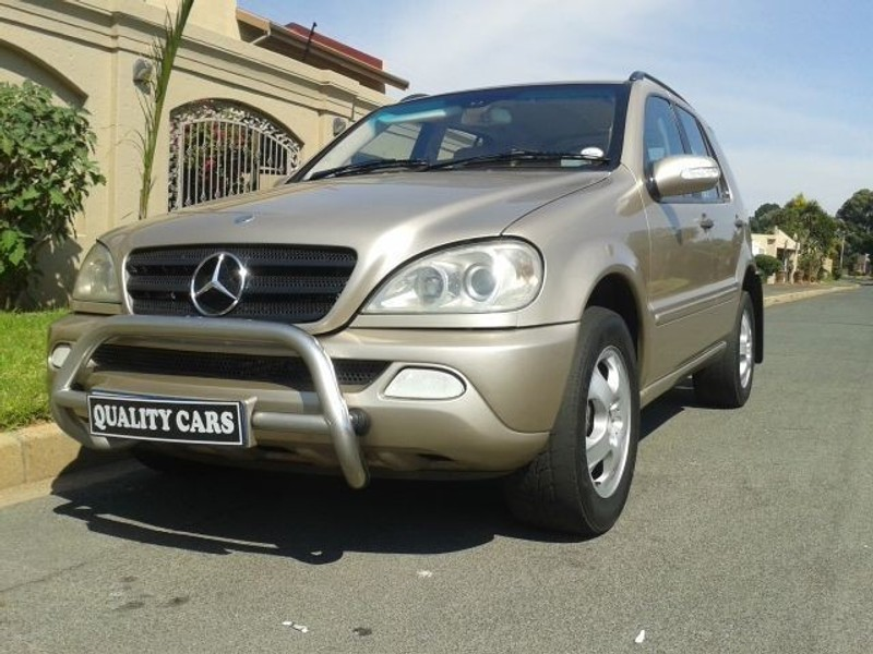 used mercedes benz m class ml270 cdi f l for sale in gauteng id 1542115. Black Bedroom Furniture Sets. Home Design Ideas