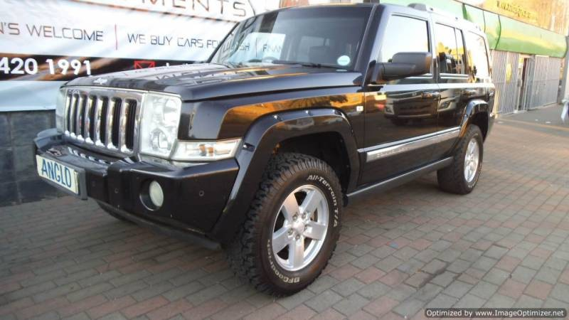 used jeep commander 5 7 limited for sale in gauteng id 1543726. Black Bedroom Furniture Sets. Home Design Ideas