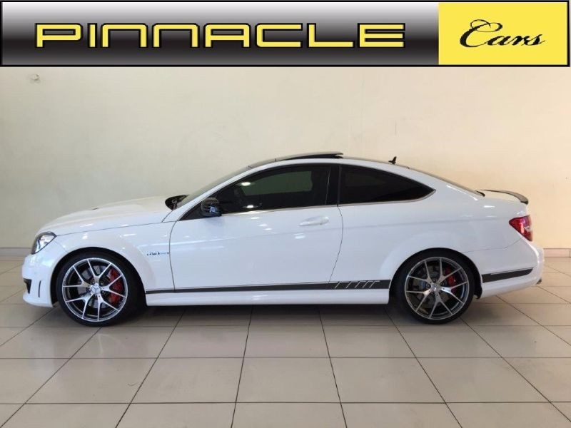 used mercedes benz c class c63 amg coupe edition 507 for sale in gauteng id 1544100. Black Bedroom Furniture Sets. Home Design Ideas