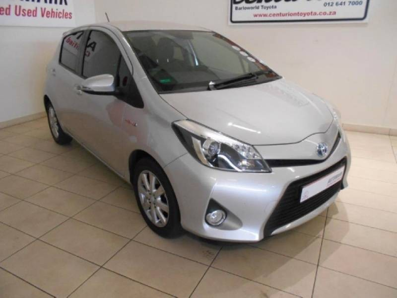 used toyota yaris 1 5 hsd xr 5dr hybrid for sale in gauteng id 1546219. Black Bedroom Furniture Sets. Home Design Ideas
