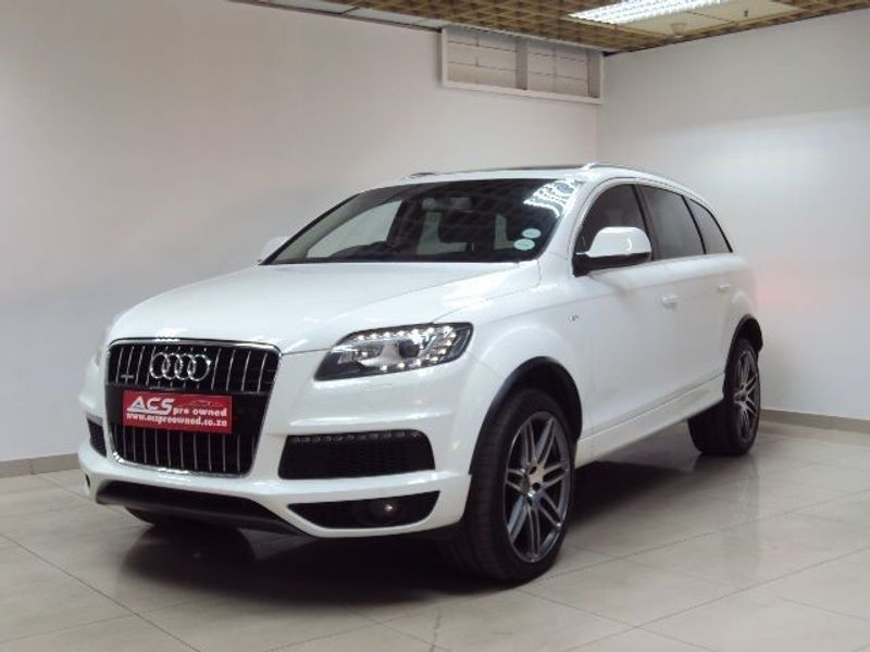 used audi q7 3 0t tfsi quattro tip s line pan roof 21 inch for sale in gauteng id. Black Bedroom Furniture Sets. Home Design Ideas