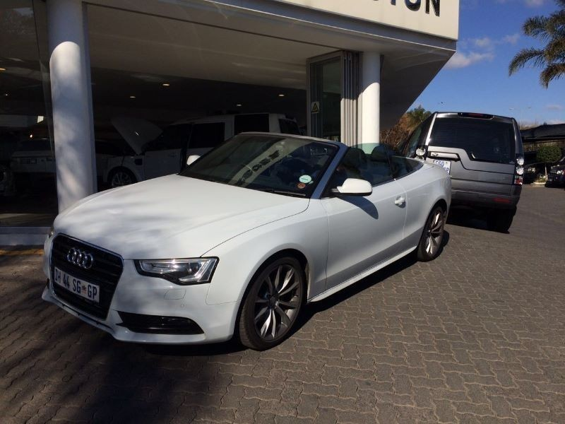 used audi a5 2014 audi a5 cab low mileage for sale in gauteng cars. Black Bedroom Furniture Sets. Home Design Ideas