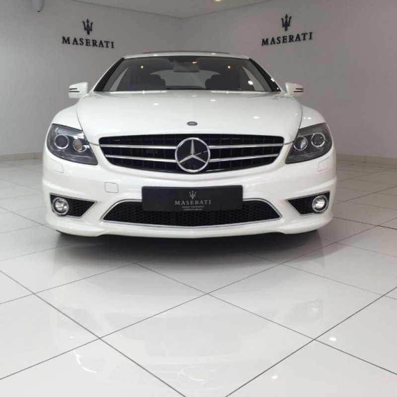 Used mercedes benz cl class cl63 amg 2010 50000km white for Mercedes benz cl class for sale