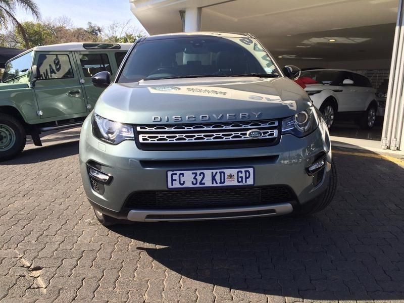 used land rover discovery 2016 land rover discovery sport sd4 7 seater for sale in gauteng. Black Bedroom Furniture Sets. Home Design Ideas
