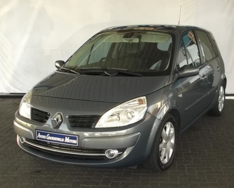used renault scenic ii dynamic 1 9 dci for sale in western cape id 1553771. Black Bedroom Furniture Sets. Home Design Ideas