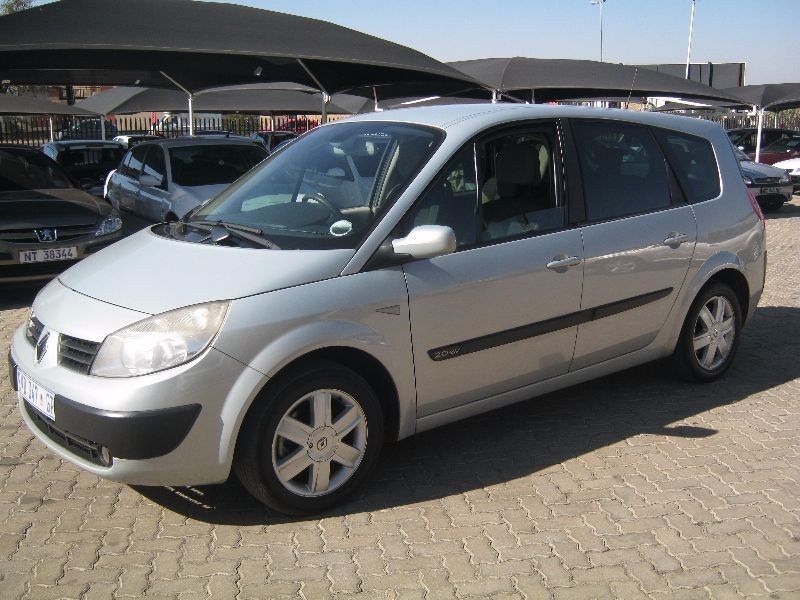 used renault grand scenic ii expression 2 0 for sale in gauteng id 1555037. Black Bedroom Furniture Sets. Home Design Ideas
