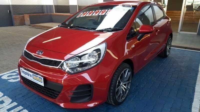 used kia rio 1 2 motion with new 17 for sale in gauteng id 1555878. Black Bedroom Furniture Sets. Home Design Ideas