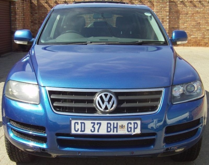 used volkswagen touareg r5 2 5 tdi tip finance available for sale in gauteng id. Black Bedroom Furniture Sets. Home Design Ideas