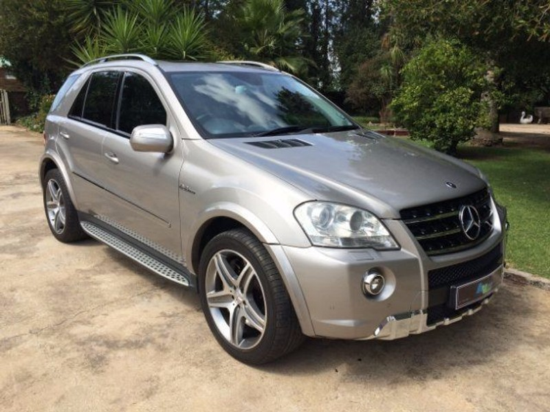used mercedes benz m class ml 63 amg for sale in gauteng id 1566328. Black Bedroom Furniture Sets. Home Design Ideas