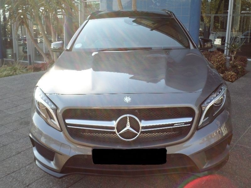 used mercedes benz gla class 45 amg for sale in gauteng id 1569314. Black Bedroom Furniture Sets. Home Design Ideas