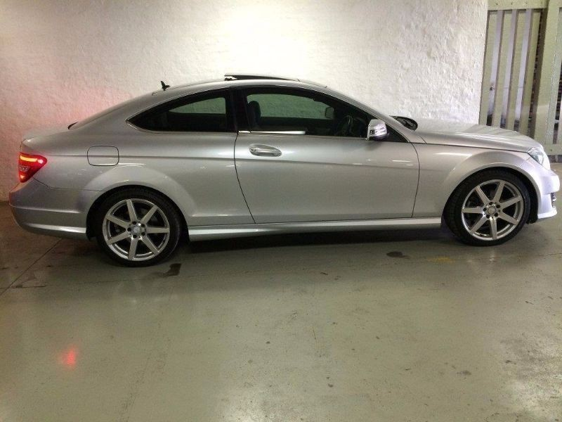 Used mercedes benz c class c250 cdi be coupe a t for sale for Mercedes benz c250 performance upgrades