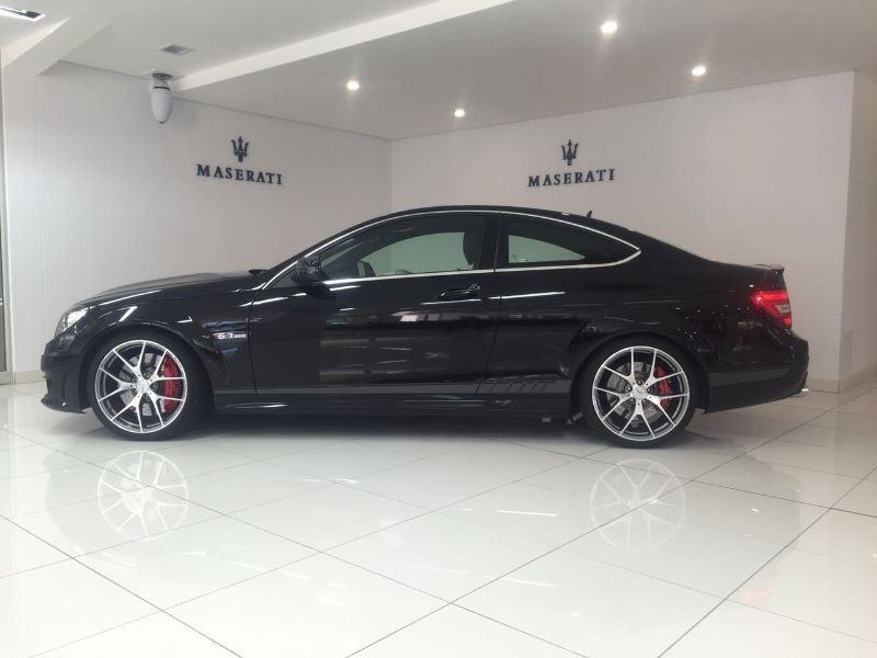 Used mercedes benz c class c63 amg coupe edition 507 for Mercedes benz c63 amg coupe for sale