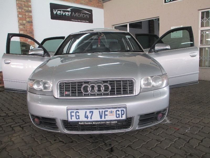 used audi s4 4 2 quattro for sale in gauteng id 1573567. Black Bedroom Furniture Sets. Home Design Ideas