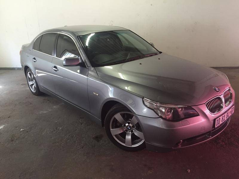 used bmw 5 series 550i a t e60 for sale in gauteng id 1573715. Black Bedroom Furniture Sets. Home Design Ideas