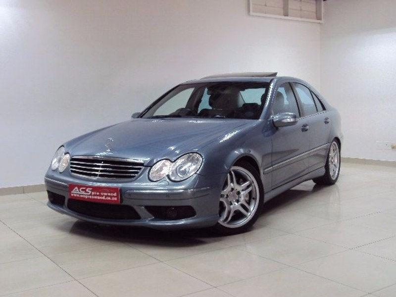 Used mercedes benz c class c55 amg auto fsh for sale in for Mercedes benz c55 amg