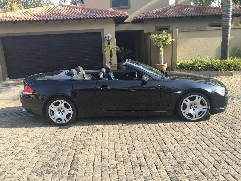 used bmw 6 series 645ci convertible a t e64 for sale in gauteng id 1580502. Black Bedroom Furniture Sets. Home Design Ideas
