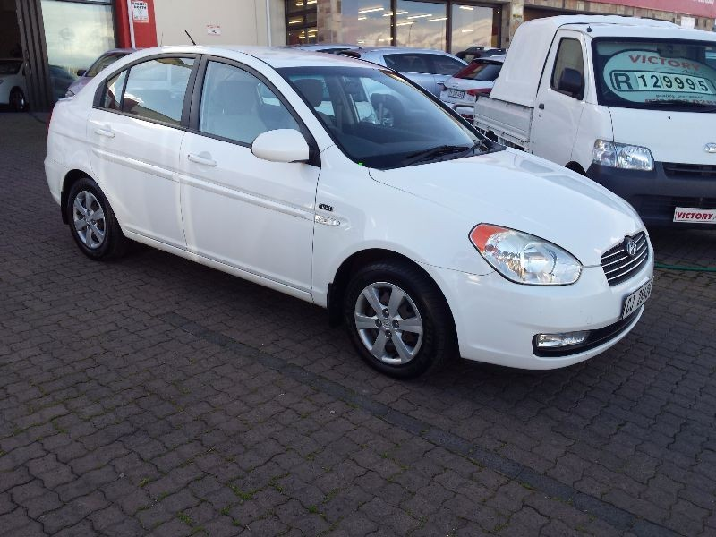 used hyundai accent 1 6 gls hs for sale in western cape. Black Bedroom Furniture Sets. Home Design Ideas