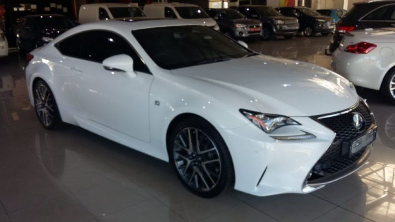 used lexus rc f 350 f sport v6 for sale in gauteng id 1582520. Black Bedroom Furniture Sets. Home Design Ideas