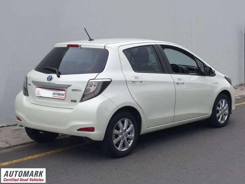 used toyota yaris 1 5 hsd xs 5dr auto hybrid for sale in western cape id 1583379. Black Bedroom Furniture Sets. Home Design Ideas