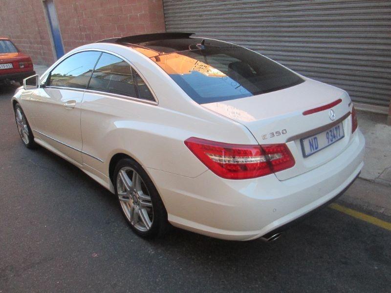 Used Mercedes Benz E Class E350 Coupe Avantgarde Amg For