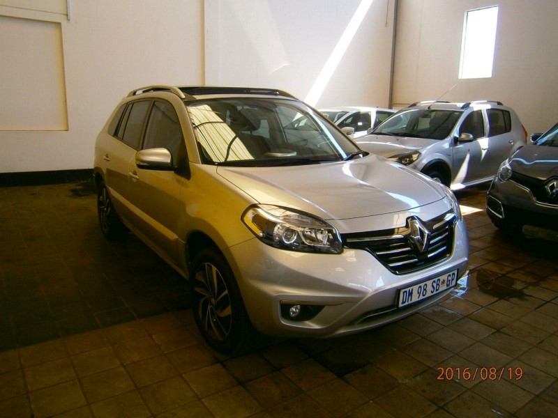 used renault koleos 2 5 cvt 4x4 dynam prem for sale in. Black Bedroom Furniture Sets. Home Design Ideas