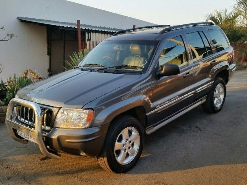 used jeep grand cherokee 2 7 overland for sale in gauteng id 1592318. Black Bedroom Furniture Sets. Home Design Ideas