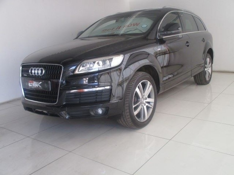used audi q7 4 2 fsi v8 quattro tip for sale in gauteng id 1593858. Black Bedroom Furniture Sets. Home Design Ideas