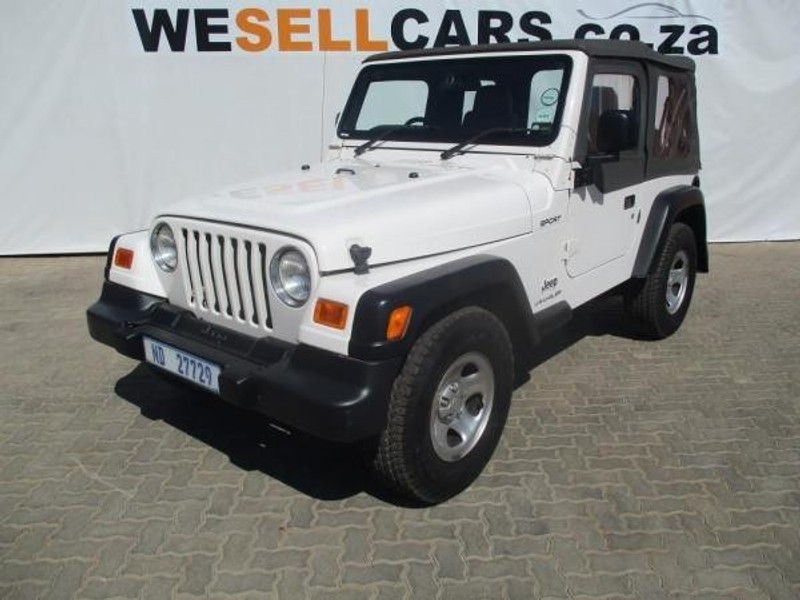 used jeep wrangler sport st for sale in gauteng id. Cars Review. Best American Auto & Cars Review