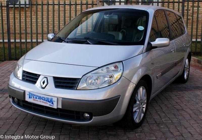 used renault grand scenic ii privilege for sale in gauteng id 1595915. Black Bedroom Furniture Sets. Home Design Ideas