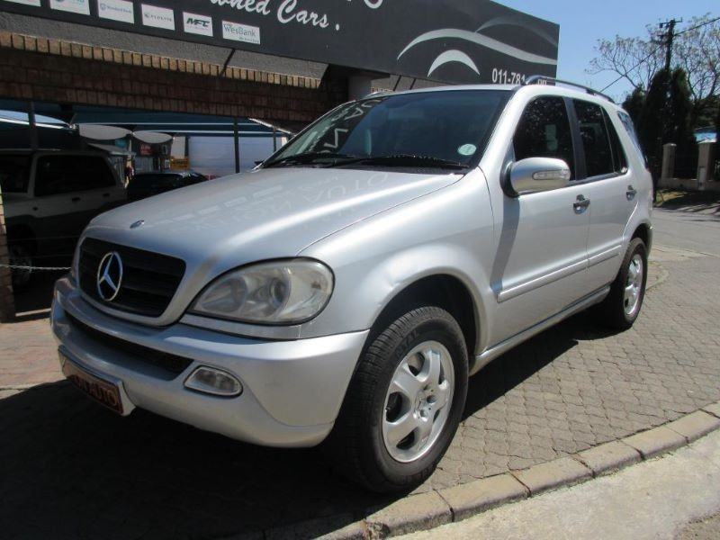 used mercedes benz m class ml 270 cdi f l for sale in gauteng id 1597216. Black Bedroom Furniture Sets. Home Design Ideas
