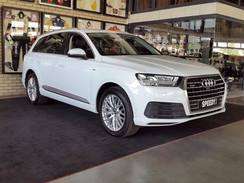 used audi q7 3 0 tdi v6 quattro tip s line for sale in north west province id 1597234. Black Bedroom Furniture Sets. Home Design Ideas