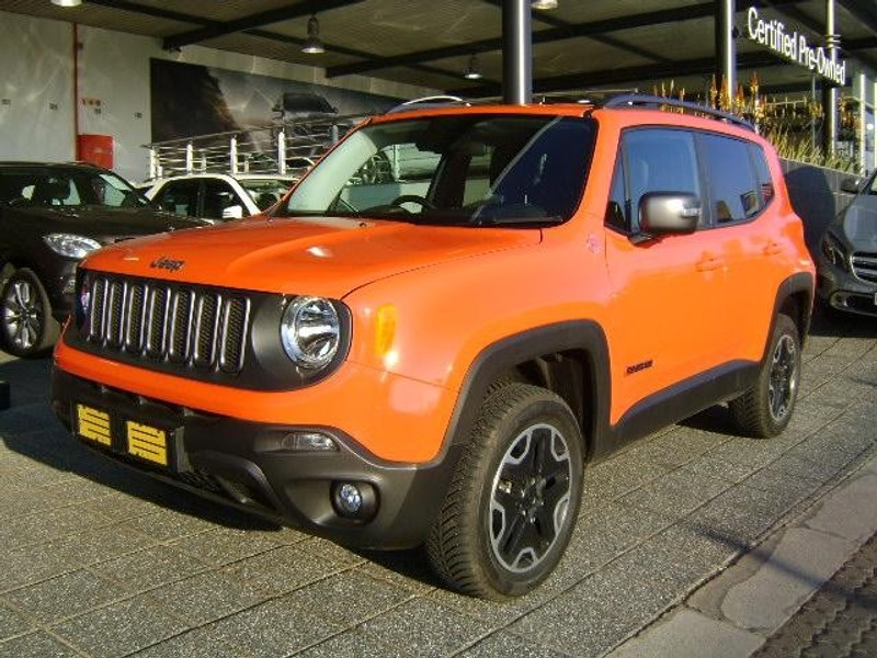 used jeep renegade 2 4 trailhawk auto for sale in gauteng id 1597670. Black Bedroom Furniture Sets. Home Design Ideas
