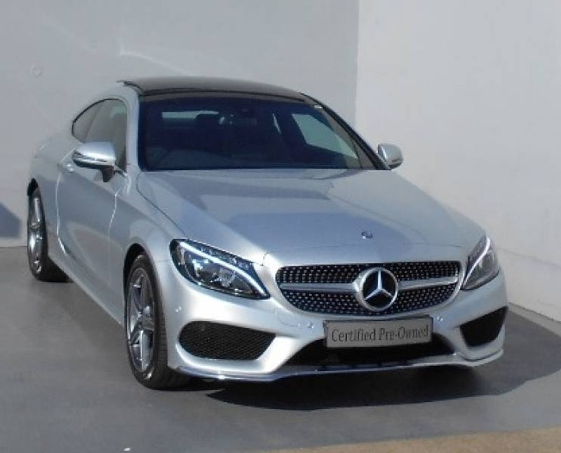 used mercedes benz c class c200 amg coupe auto for sale in kwazulu natal id 1598555. Black Bedroom Furniture Sets. Home Design Ideas