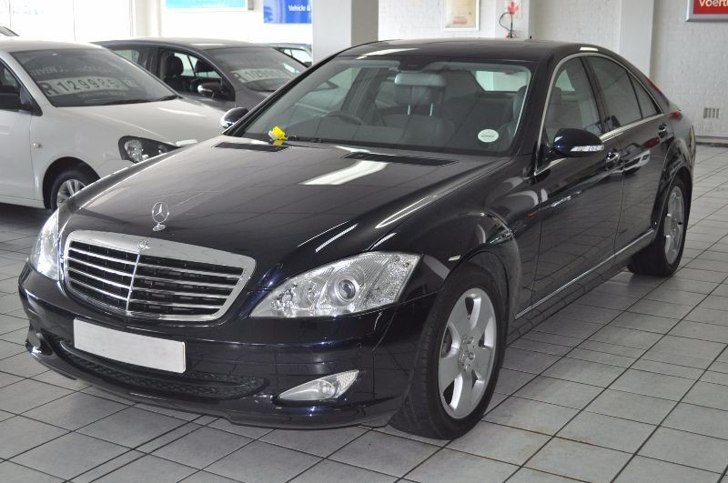 Used mercedes benz s class s 350 for sale in western cape for 2007 mercedes benz s class s550 for sale