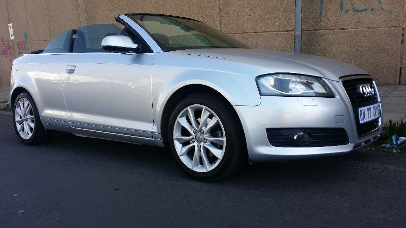 used audi a3 audi a3 1 8 t convertible for sale in gauteng id 1601846. Black Bedroom Furniture Sets. Home Design Ideas