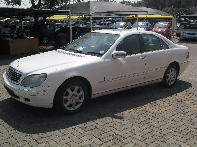 Used mercedes benz s class s 320 a t for sale in gauteng for Mercedes benz 2002 s500 for sale