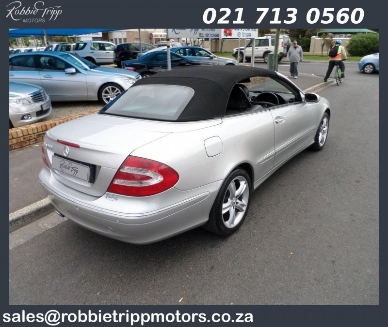 used mercedes benz clk class clk 500 cabriolet for sale in western cape id 1607080. Black Bedroom Furniture Sets. Home Design Ideas