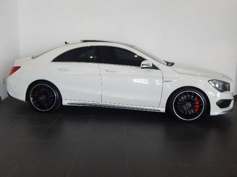 used mercedes benz cla class cla45 amg for sale in gauteng id 1607191. Black Bedroom Furniture Sets. Home Design Ideas