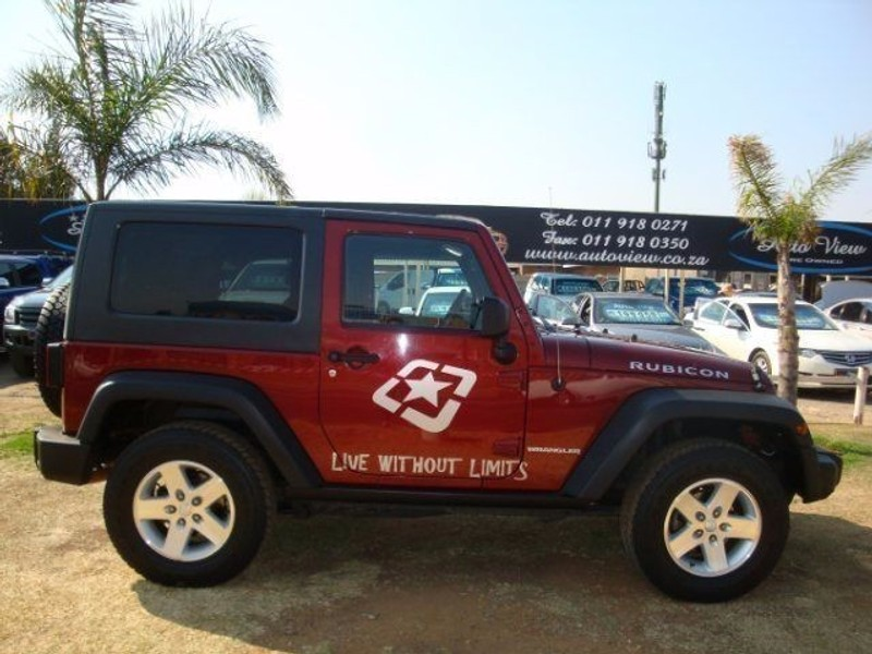 used jeep wrangler 3 8 rubicon 2dr 6sp for sale in gauteng id 1610953. Black Bedroom Furniture Sets. Home Design Ideas